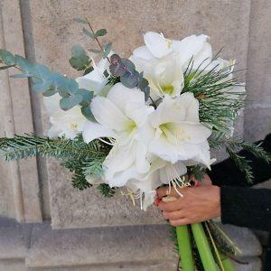 bouquet-amaryllis-blanc