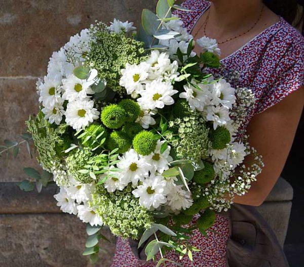 bouquet-vert-blanc-barcelone