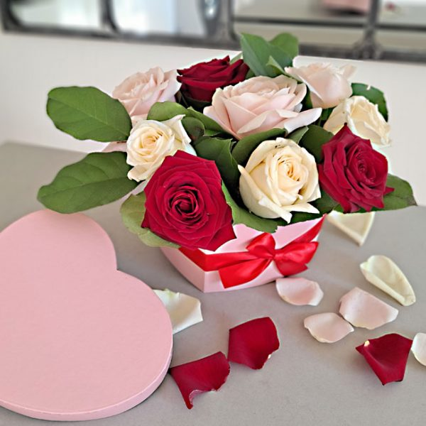 rosas-caja-corazon