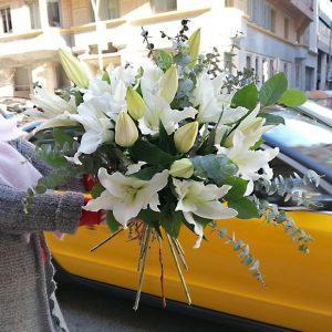 bouquet-lys-blanc-barcelona