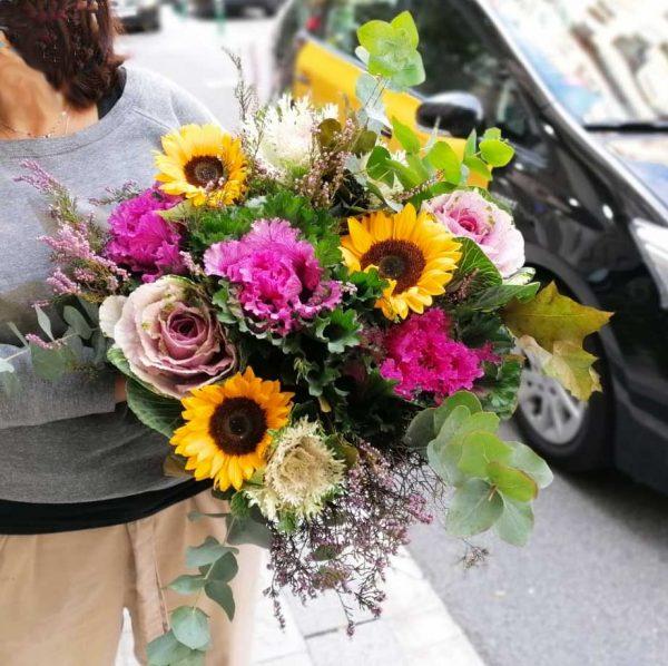 bouquet-tournesol-choux