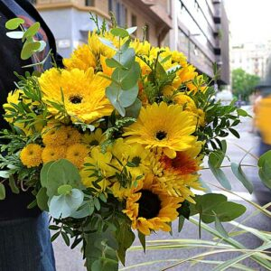 bouquet-fleurs-jaunes