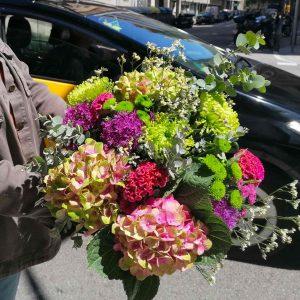 ramo-con-hortensias-barcelona