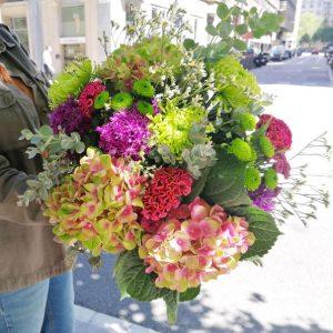 ramo-flores-hortensias