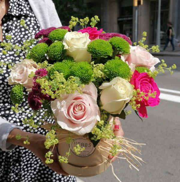 bouquet-avec-box-barcelone