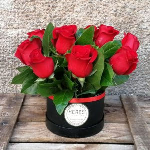 boite-chapea-roses-rouges-barcelone