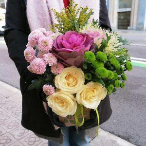 fleurs-domicile-barcelone-caja