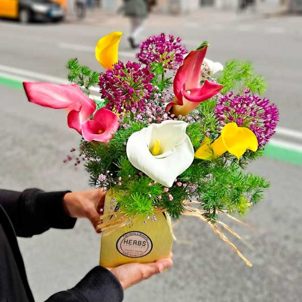 envoyer-bouquet-callas-barcelone